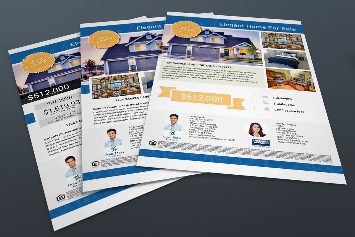listing flyer real estate listing flyers continuity programs inc