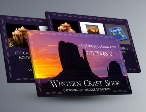 Business Card: Wood Craft Shop