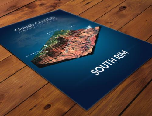 Poster: 3D Map Design
